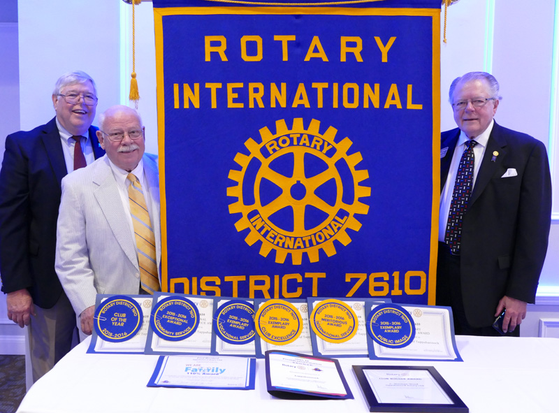 Tappahannock Rotary wins best club of the year award