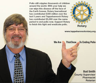 rotary end polio now campaign edwin bud smith