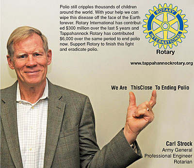 rotary end polio now campaign carl strockn