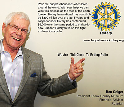 rotary end polio now campaign ron geiger